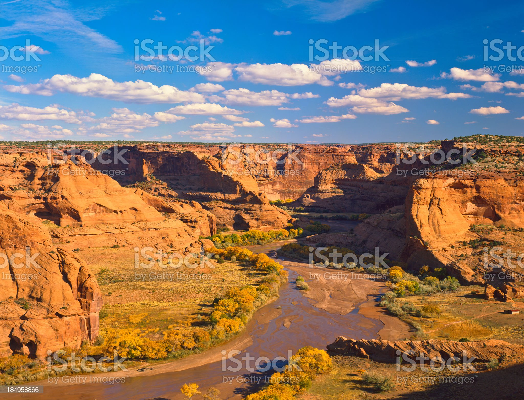 Canyon de Chelly National Monument royalty-free stock photo