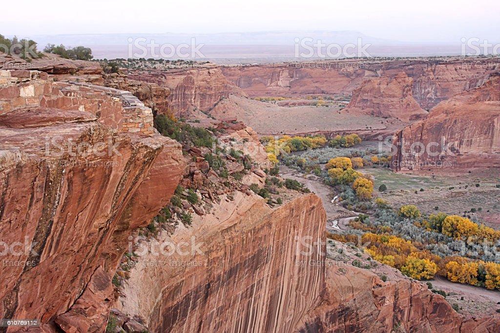 Canyon de Chelly National Park in Arizona stock photo