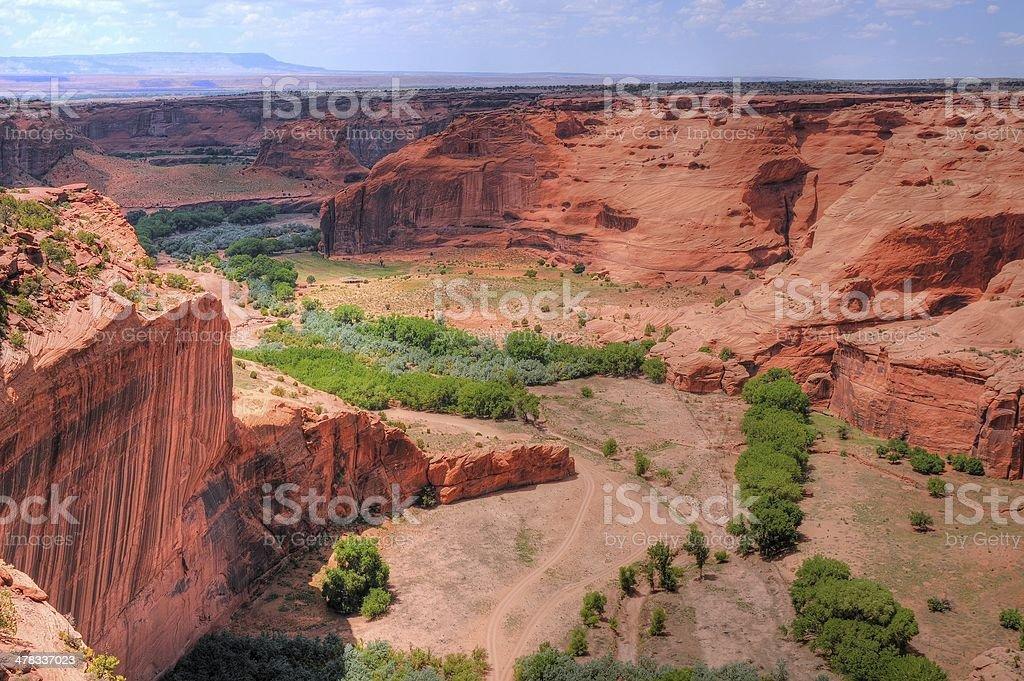 Canyon De Chelly royalty-free stock photo