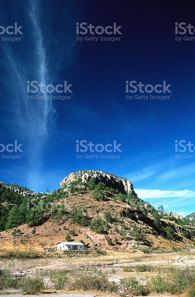 Canyon 'Del Cobre' royalty-free stock photo