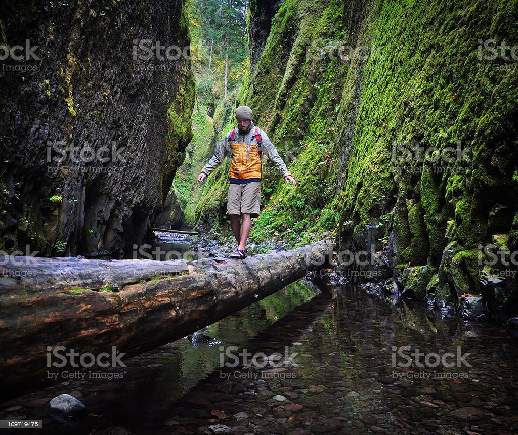 Canyon Explorer royalty-free stock photo