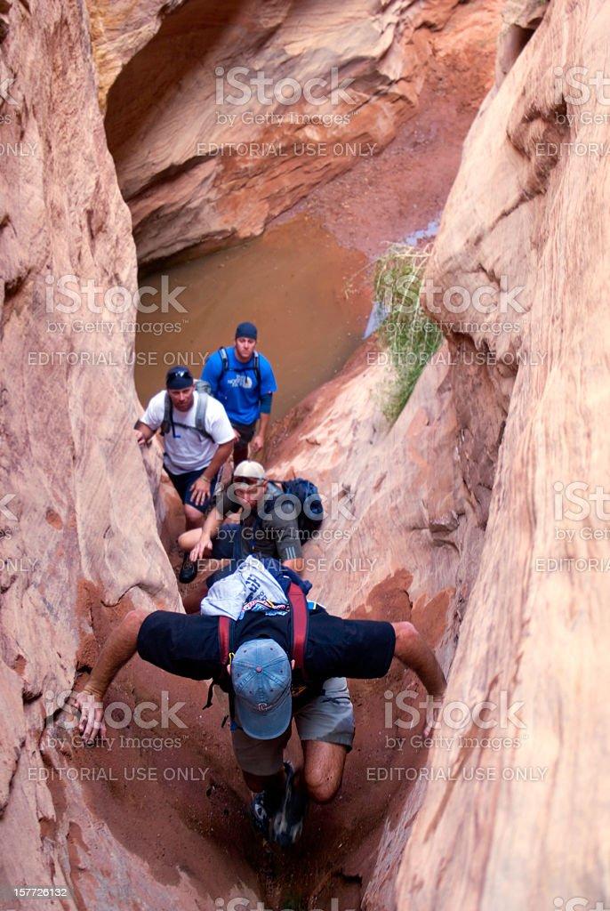 canyon explorers royalty-free stock photo