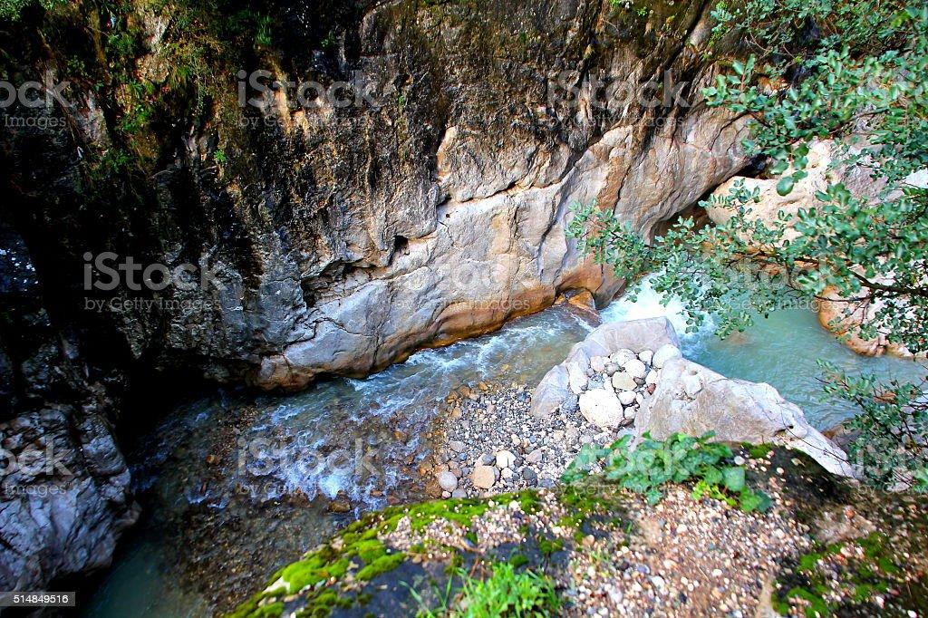 canyon in antalya turkey stock photo