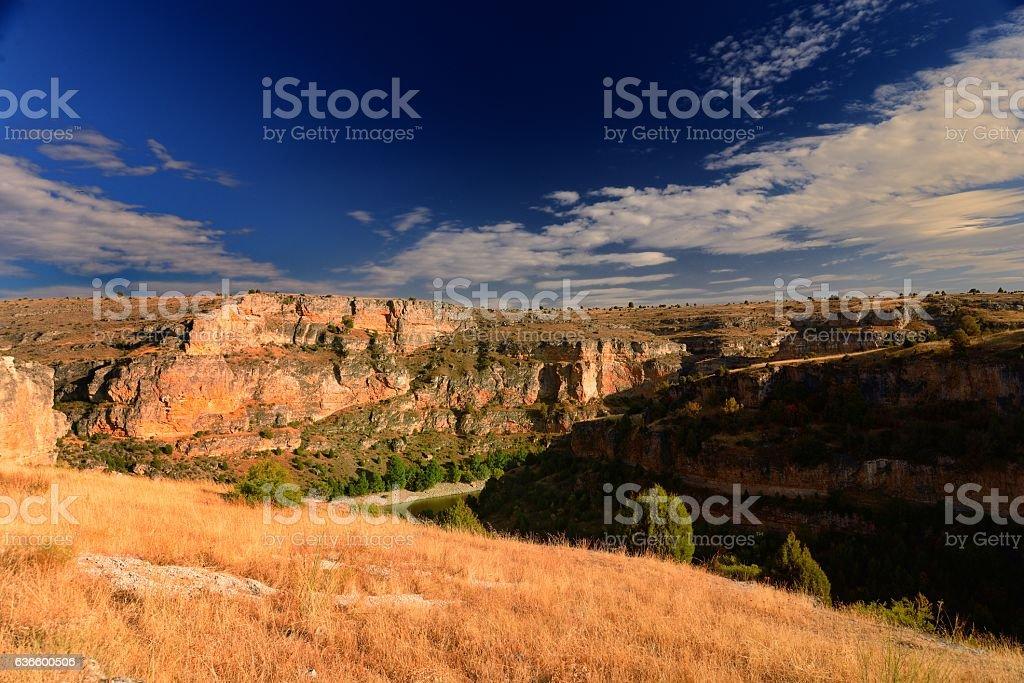 canyon in Castille - foto de stock