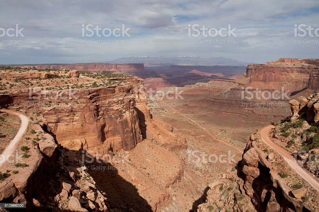 Canyon in Utah stock photo