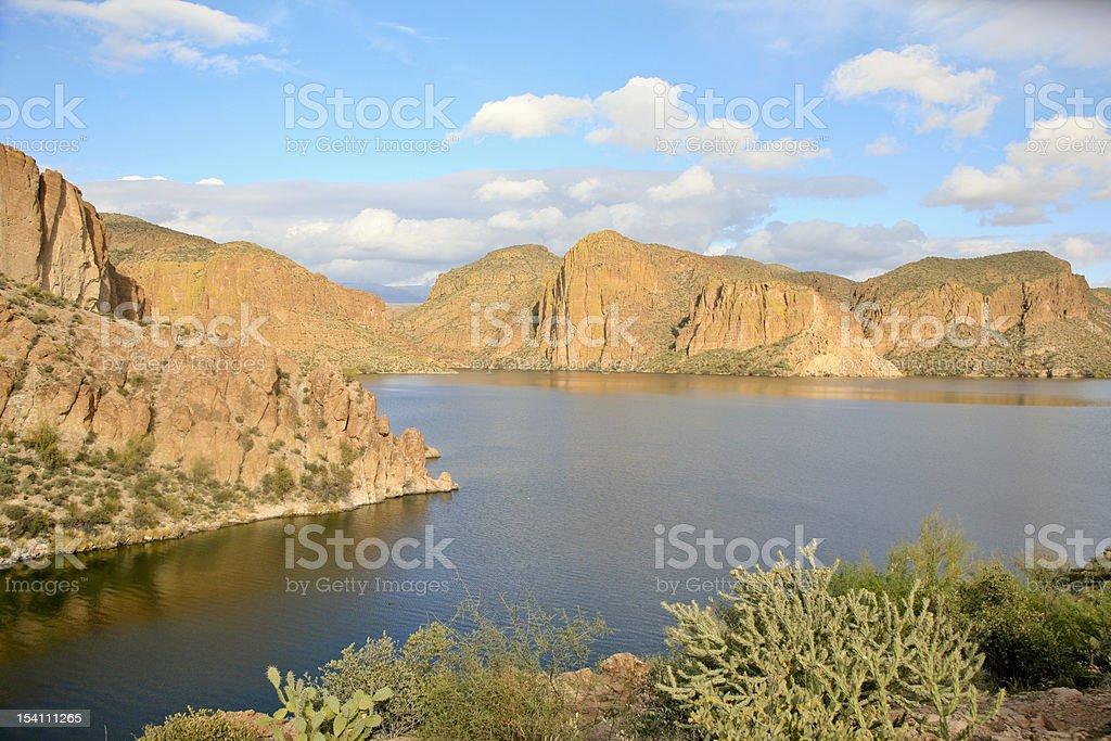 Canyon Lake, Arizona, USA stock photo