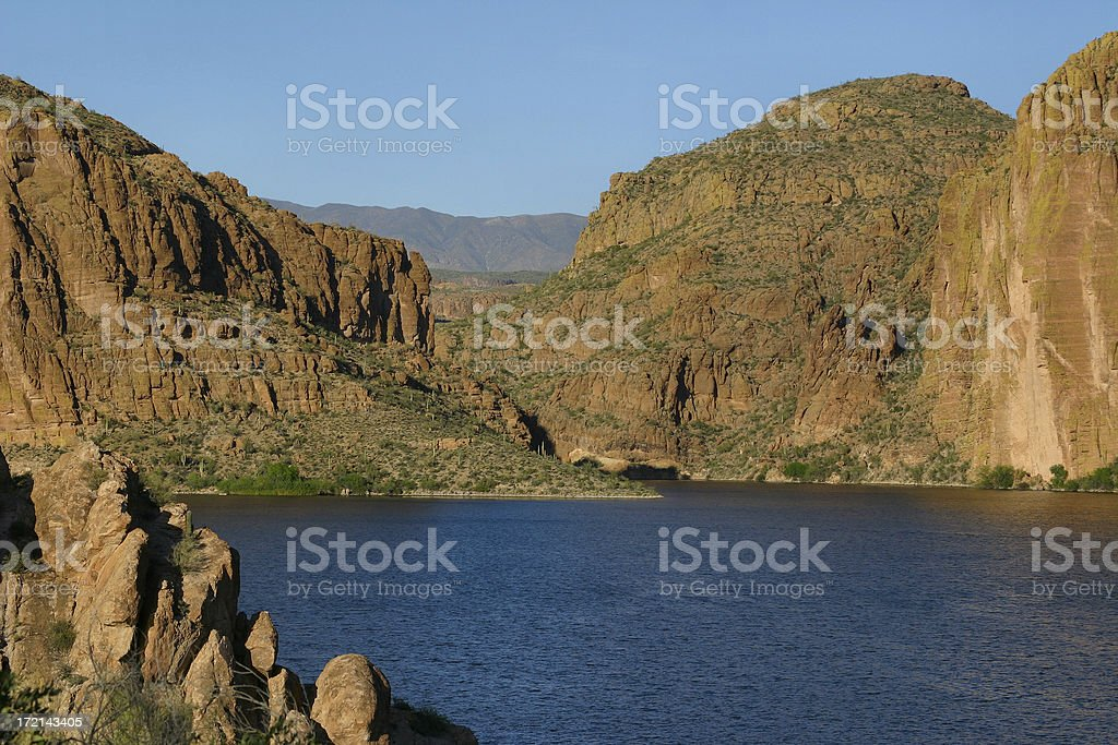 Canyon Lake royalty-free stock photo