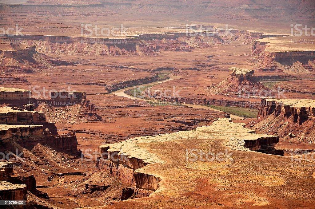 Canyon land National Park stock photo