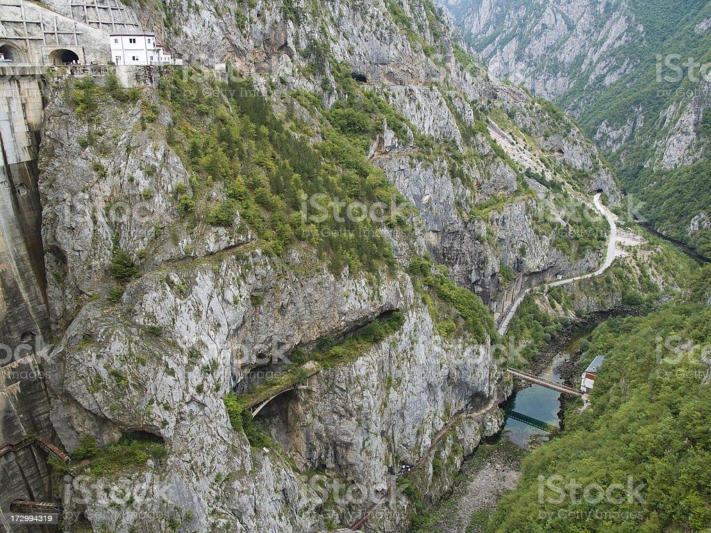 Canyon stock photo