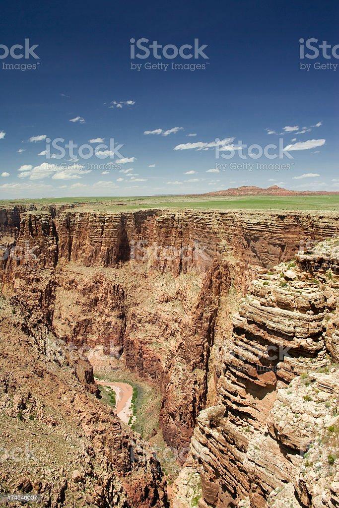 Canyon royalty-free stock photo