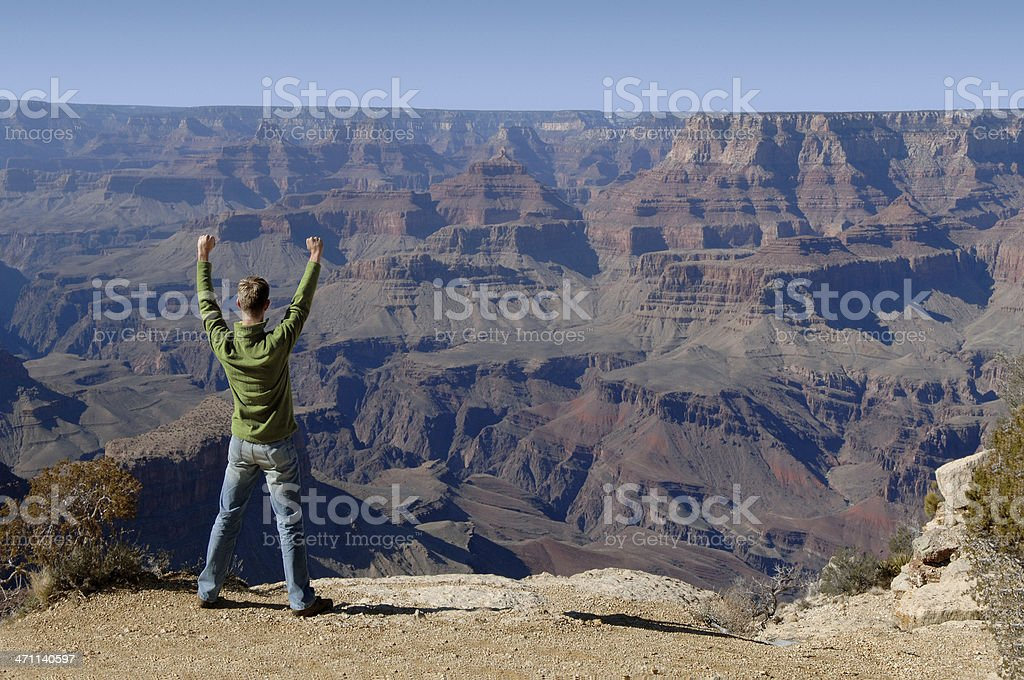 canyon punch royalty-free stock photo