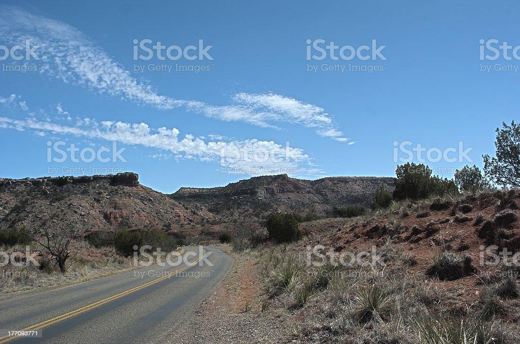 Canyon Road ロイヤリティフリーストックフォト