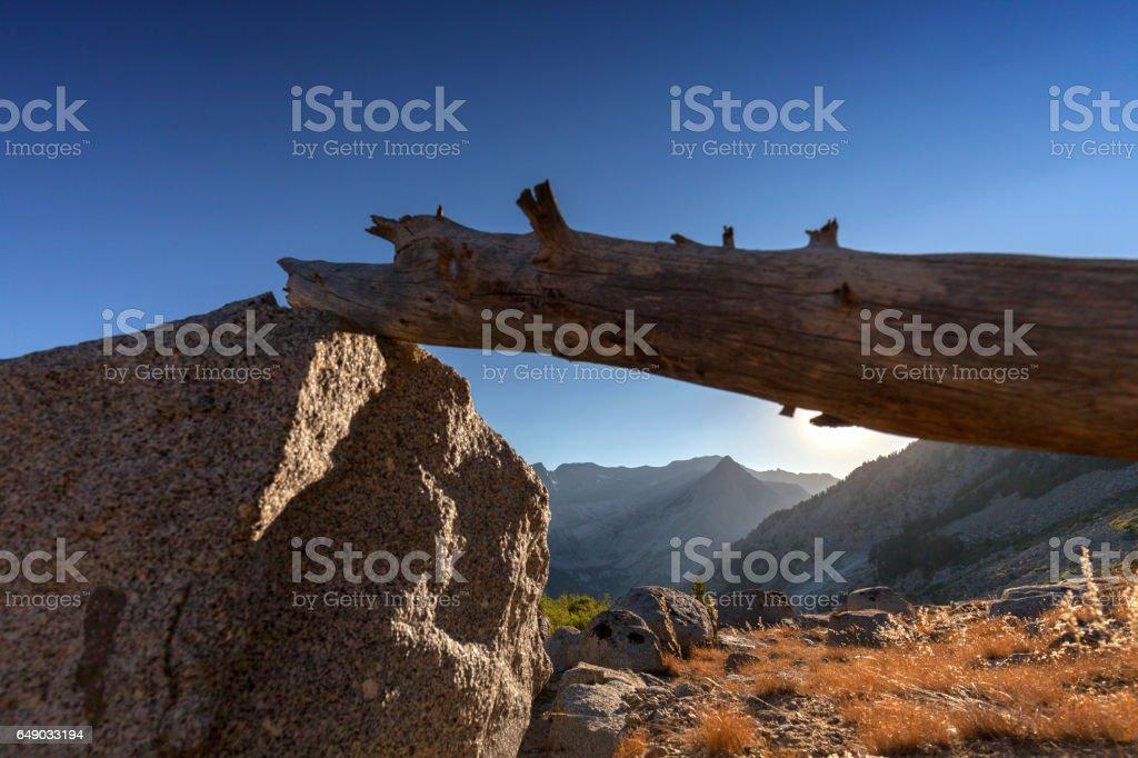 Canyon Sunset stock photo