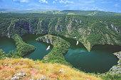 Canyon Uvac,Serbia Beautiful nature