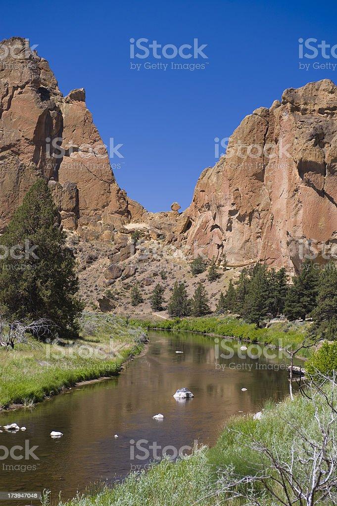 Canyon Vertical stock photo