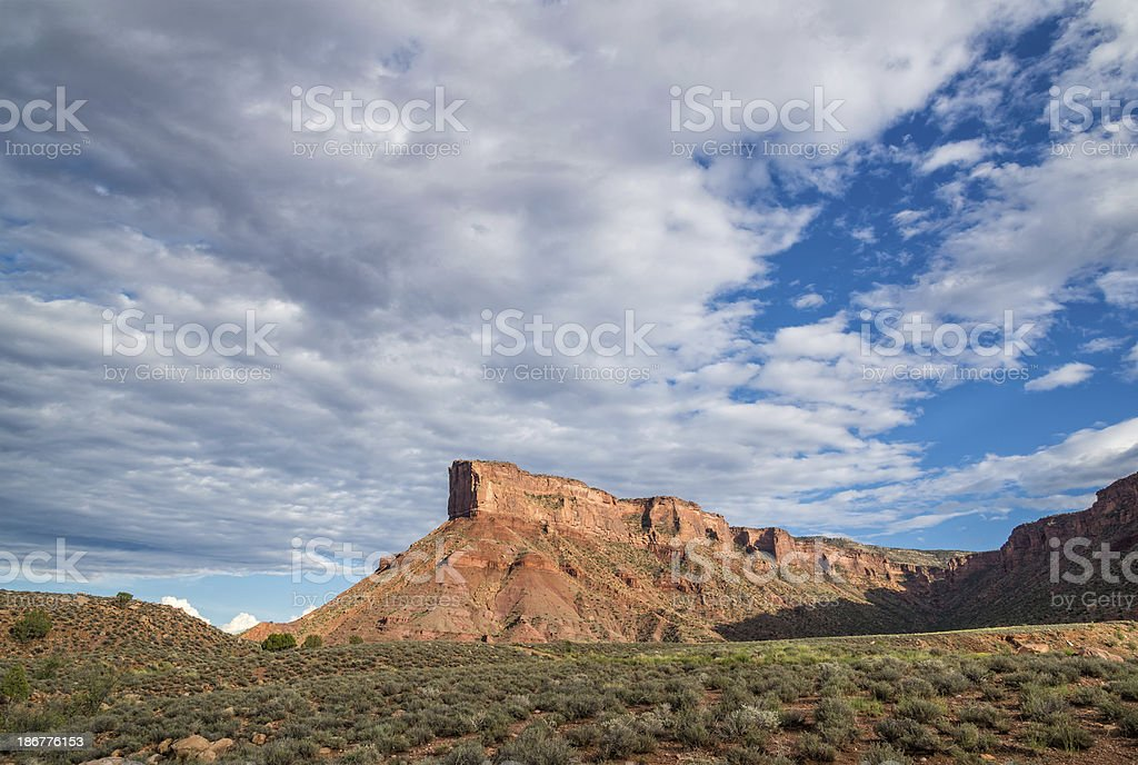 Canyon Walls and Cliffs royalty-free stock photo