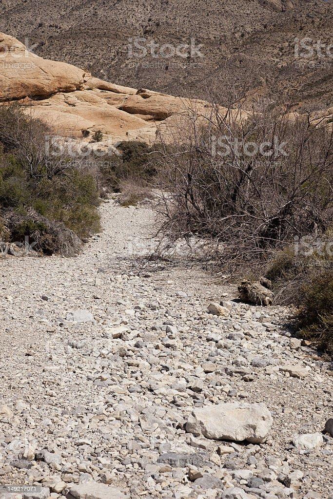 Canyon Wash royalty-free stock photo