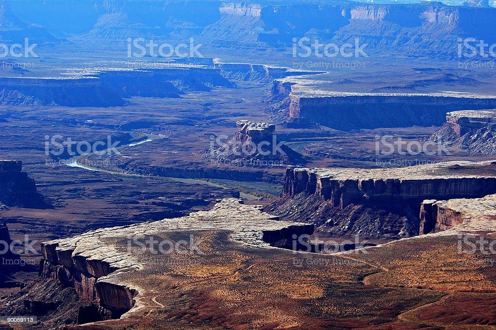Canyonland Vista royalty-free stock photo