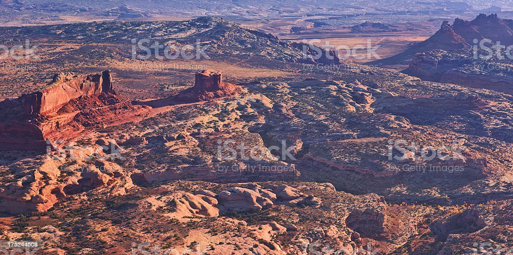 Canyonlands, Aerial View stock photo