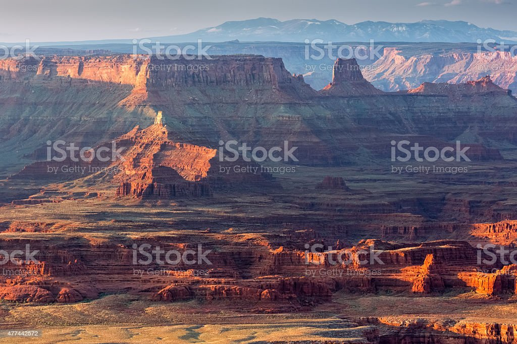 Canyonlands National Park from Dead Horse Point stock photo