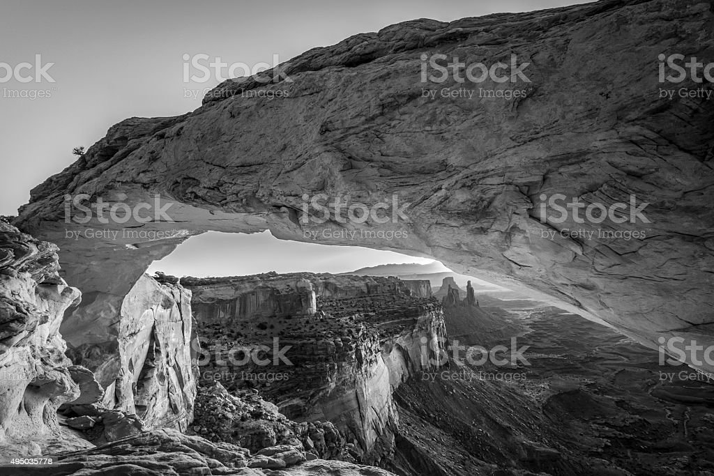 Canyonlands National Park, mesa arch stock photo