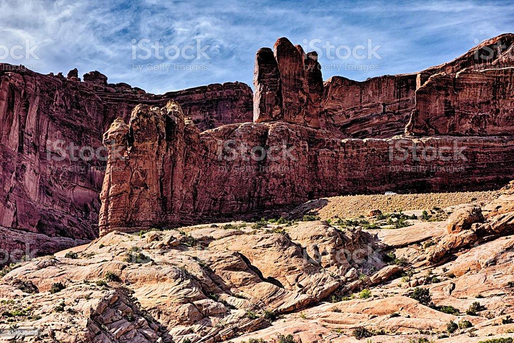 canyonlands nationalpark landscapes in utah stock photo