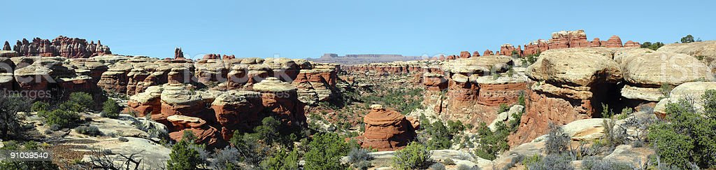 Canyonlands Panorama 2 royalty-free stock photo