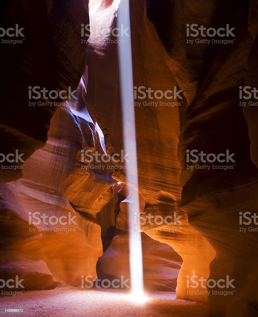 Canyons Heavenly Light royalty-free stock photo