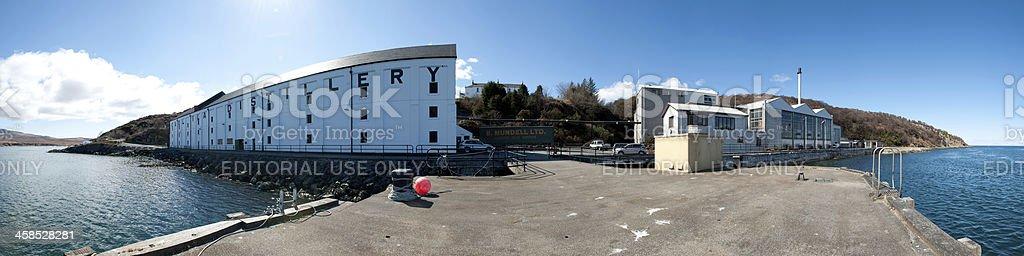 Caol Ila Distillery royalty-free stock photo