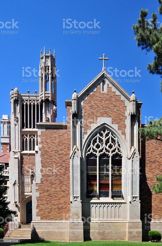Cañon City, Colorado: Holy Cross Abbey royalty-free stock photo