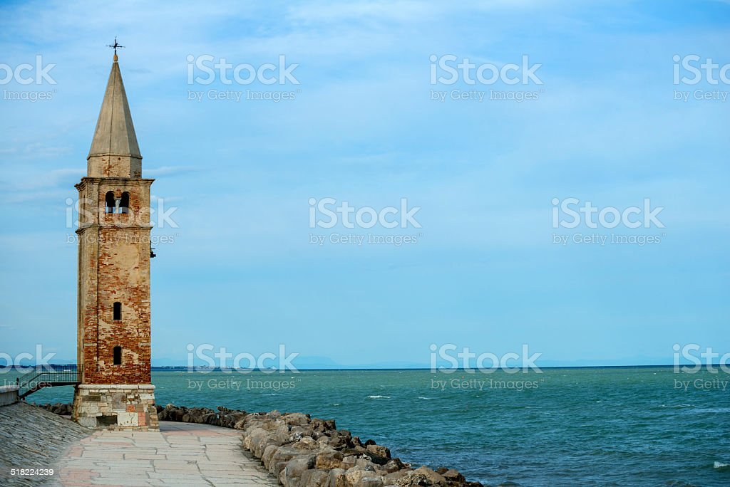 Caorle - Madonna dell'Angelo Church (Italy) stock photo