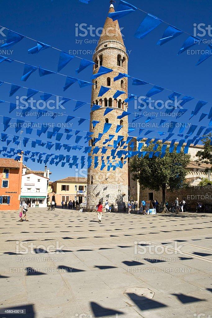 Caorle; religious procession stock photo