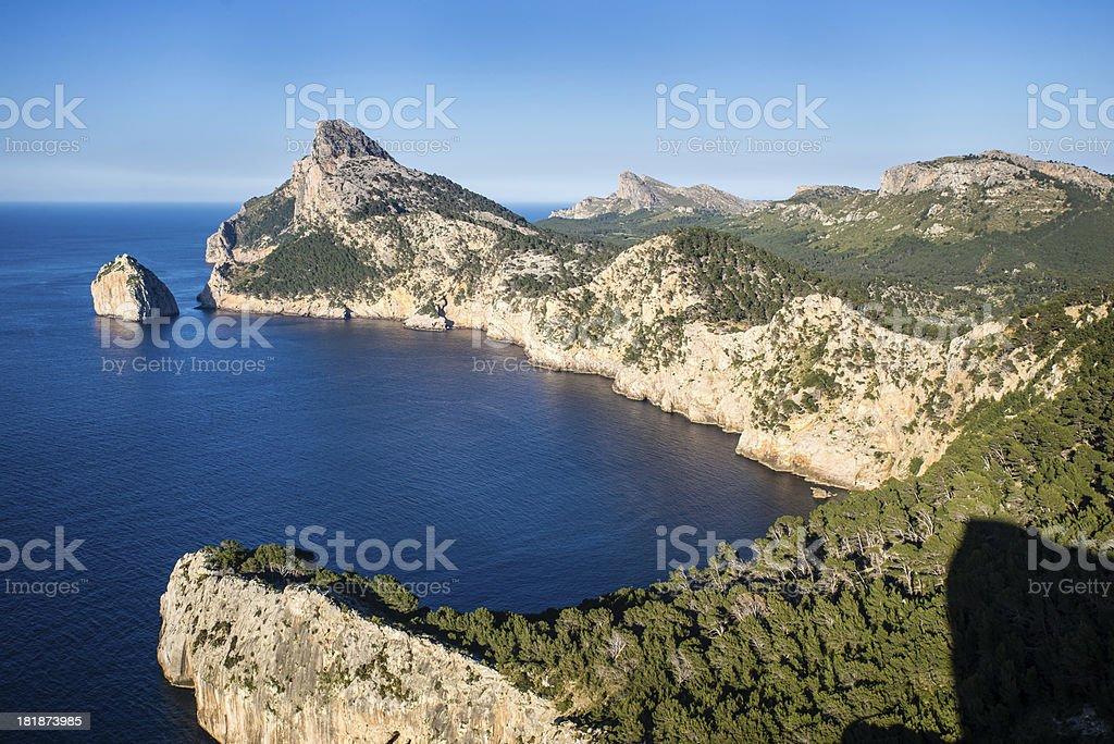 Cap de Formentor in Majorca royalty-free stock photo