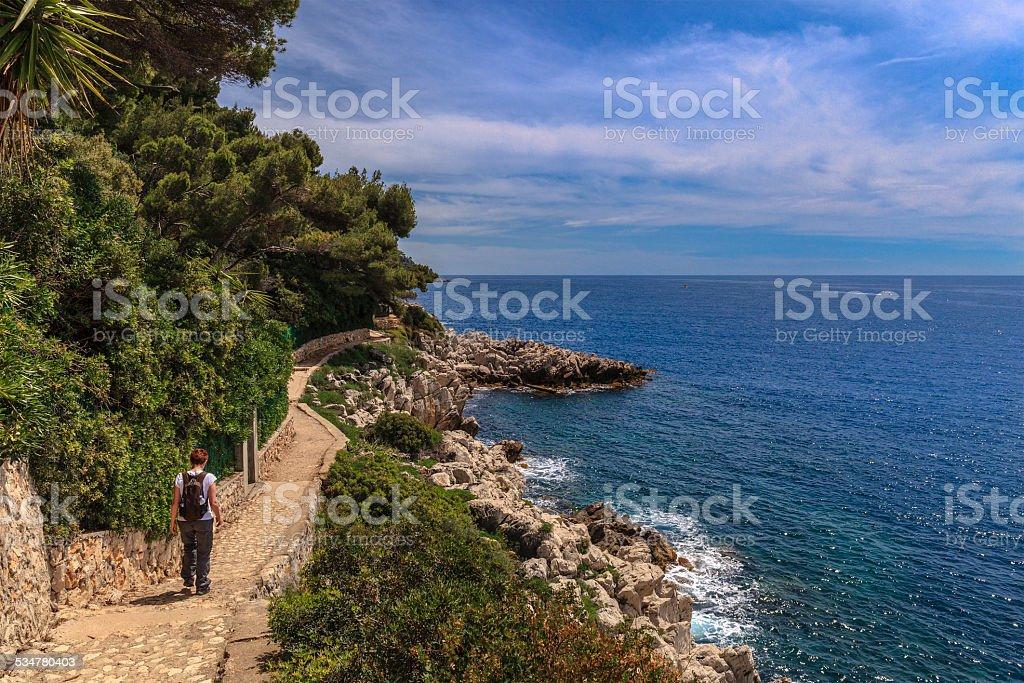 Cap Ferrat, France stock photo