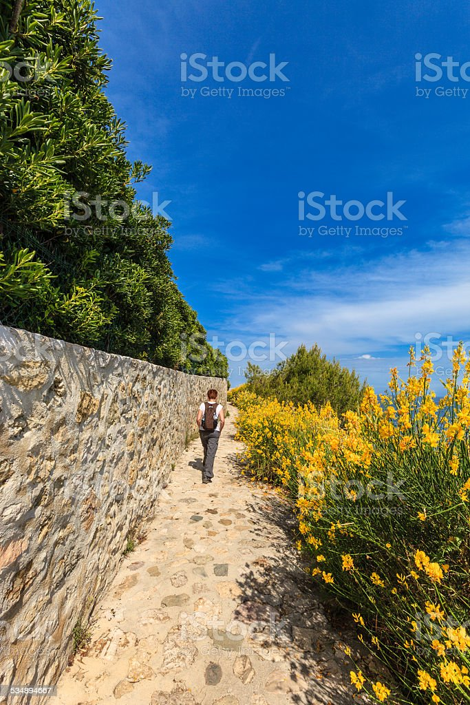 Cap Ferrat, France stock photo