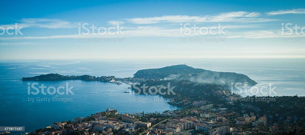 Cap Ferrat Panoramic stock photo