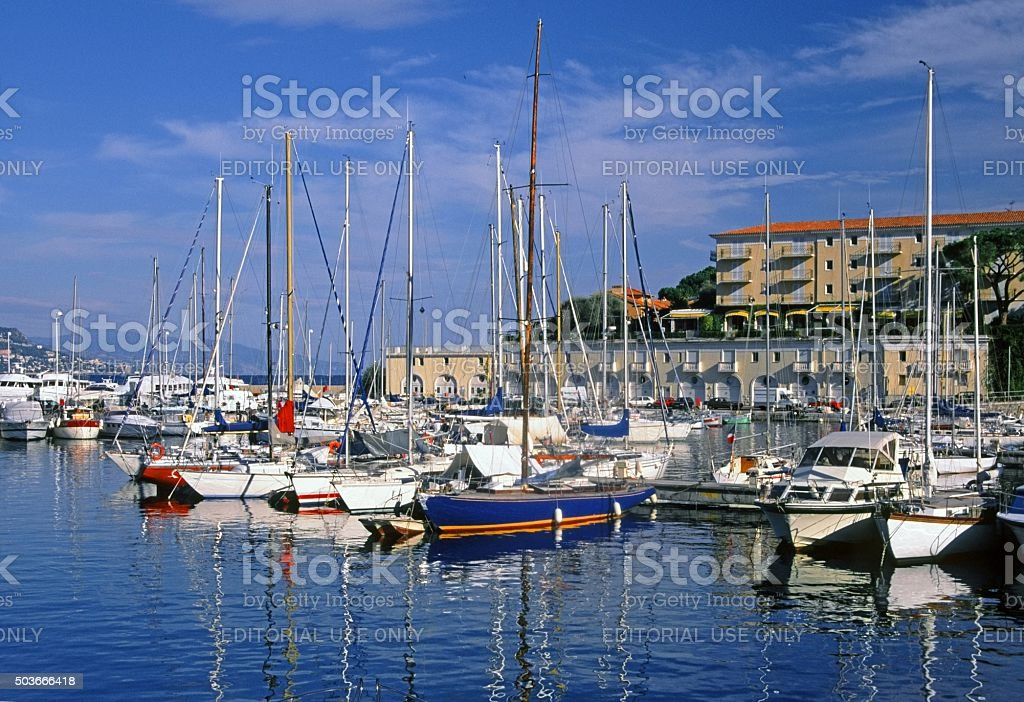 cap ferrat stock photo