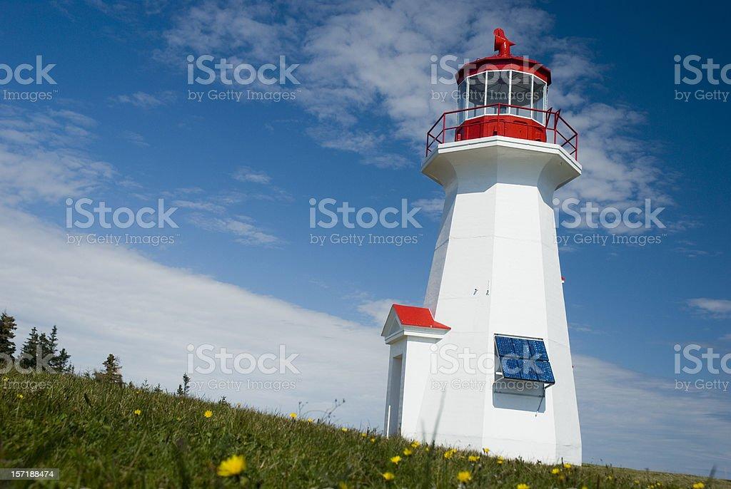 Cap Gaspe Lighthouse royalty-free stock photo