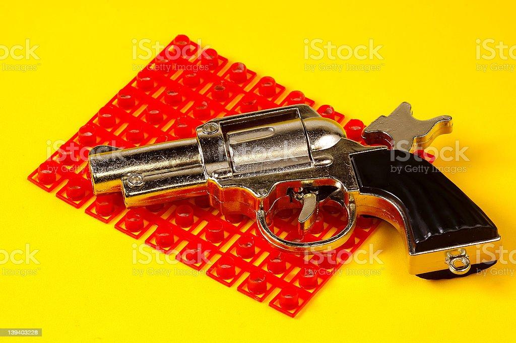 Cap Gun royalty-free stock photo