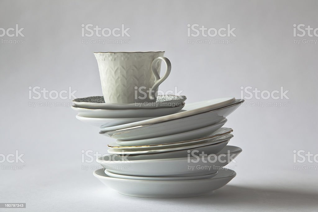 Cap Of Coffee royalty-free stock photo