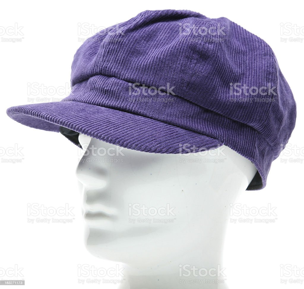 cap on a mannequin stock photo
