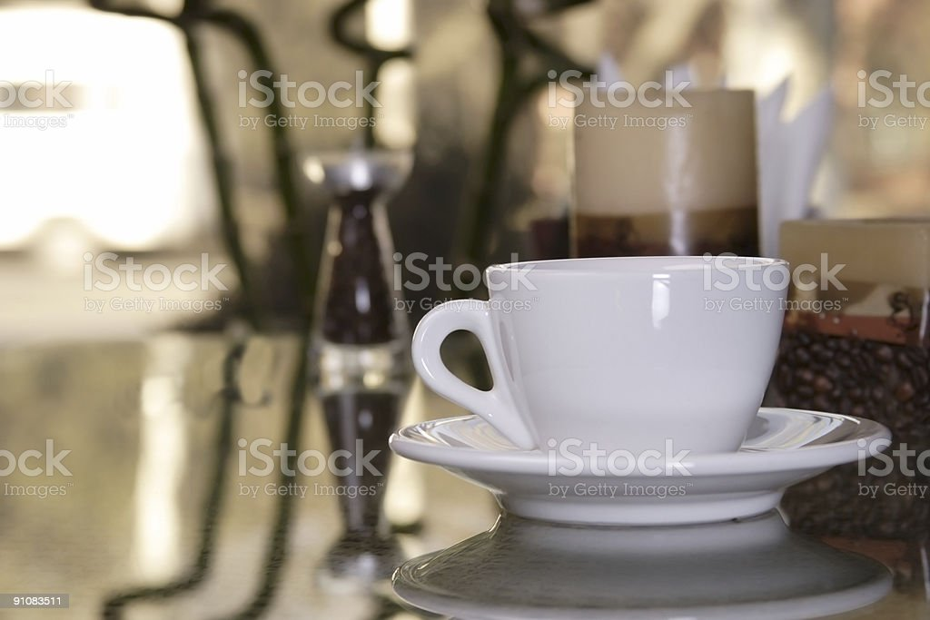cap on table royalty-free stock photo