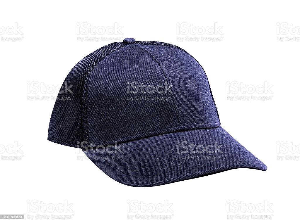 Cap on white background stock photo