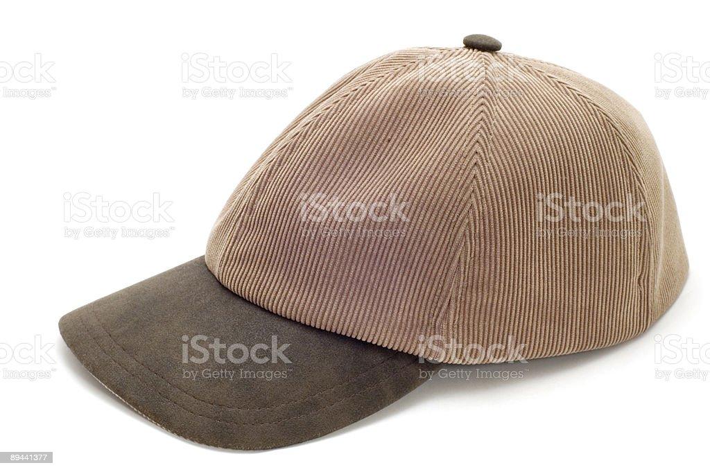 cap on white royalty-free stock photo