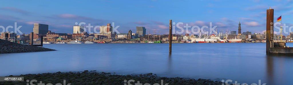 Cap San Diego in Hamburg stock photo
