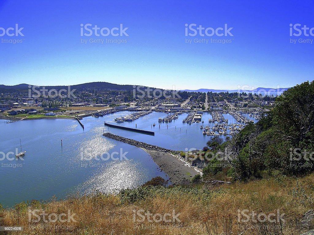 Cap Sante Marina stock photo
