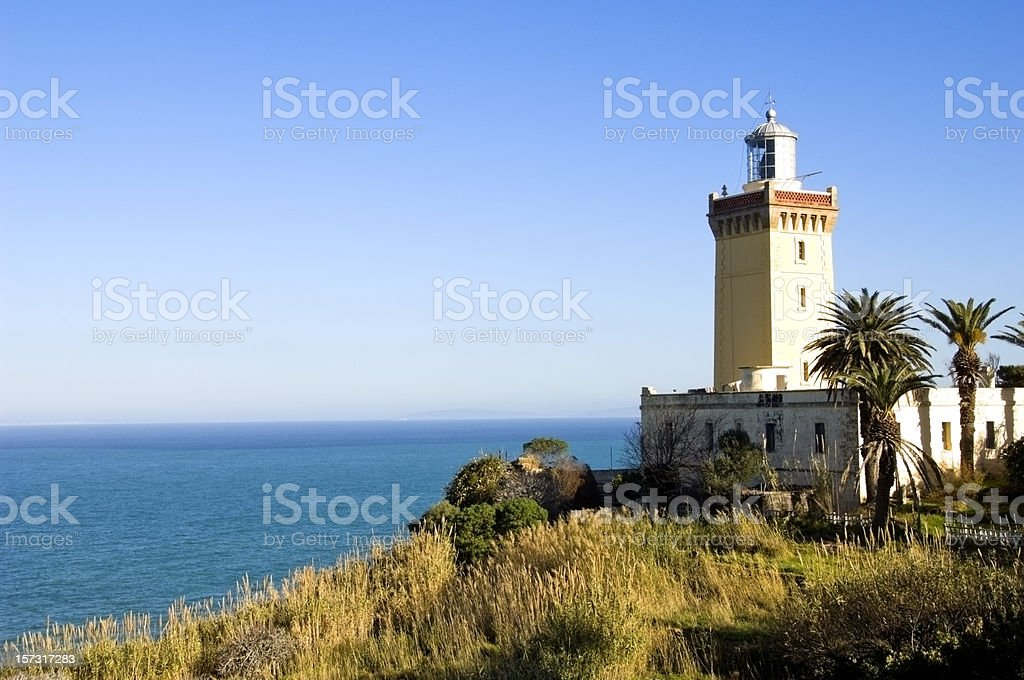 Cap Spartel, Tangiers royalty-free stock photo