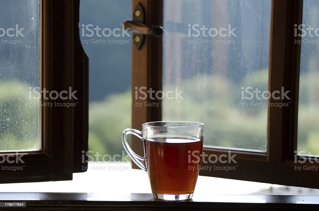 Cap Tea royalty-free stock photo