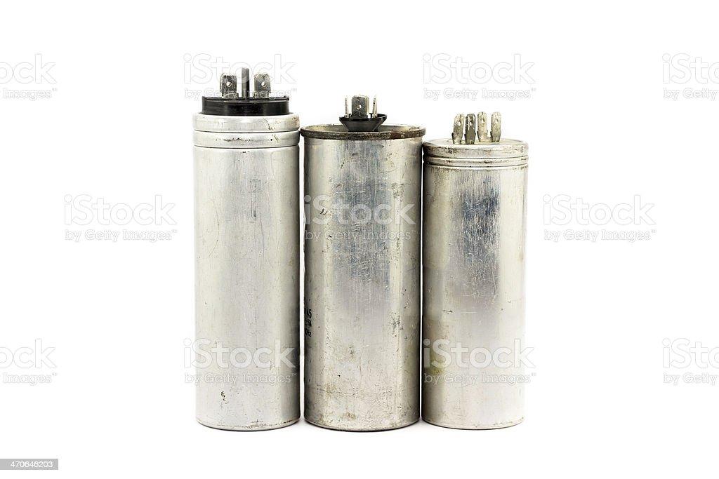 Capacitor stock photo