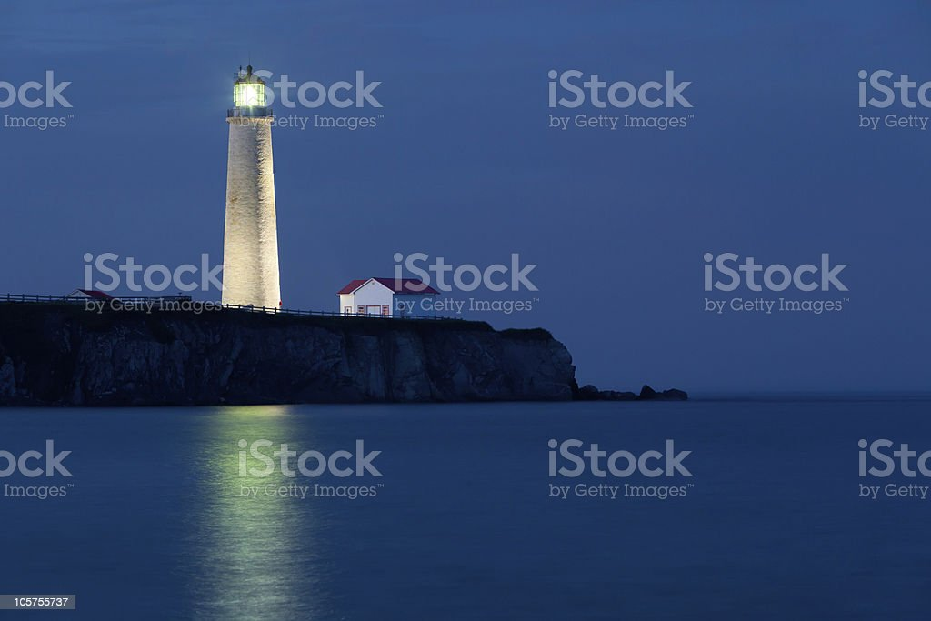 Cap-des-Rosiers Lighthouse 3 royalty-free stock photo